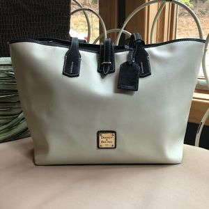 Dooney & Bourke Leather Claremont Travel Tote